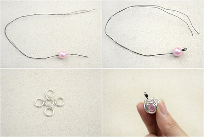 How to make a chainmaille necklace. Chainmail Necklace Styles   Unique Handcrafted Jewelry With Jump Rings And Pearls  - Step 2