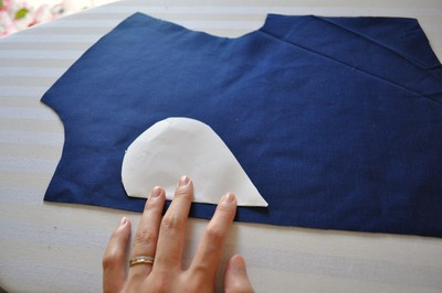 How to make a cut-out dress. Heart Cut Out Dress Tutorial - Step 3