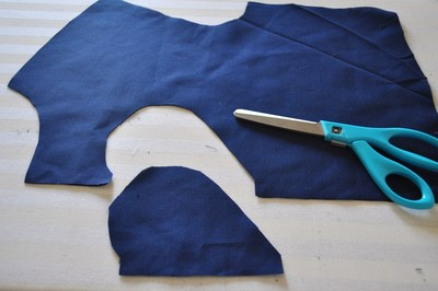How to make a cut-out dress. Heart Cut Out Dress Tutorial - Step 4