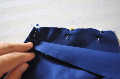 How to make a cut-out dress. Heart Cut Out Dress Tutorial - Step 8