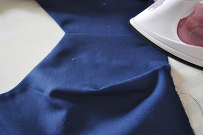 How to make a cut-out dress. Heart Cut Out Dress Tutorial - Step 10