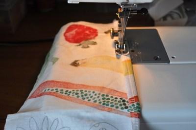 How to make a strapless dress. Tube Sun Dress - Step 3