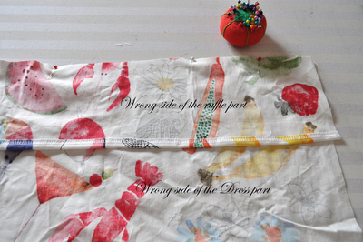 How to make a strapless dress. Tube Sun Dress - Step 4
