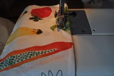 How to make a strapless dress. Tube Sun Dress - Step 6