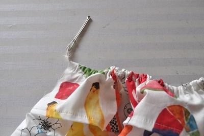 How to make a strapless dress. Tube Sun Dress - Step 8