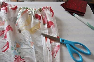 How to make a strapless dress. Tube Sun Dress - Step 10