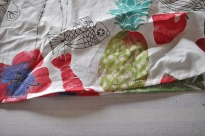 How to make a strapless dress. Tube Sun Dress - Step 11