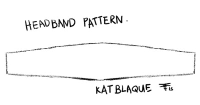 How to make a hairband / headband. How To Make Korean Style Big Bow Headbands! - Step 2
