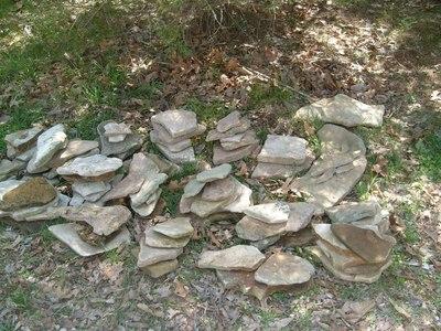 How to make a rock garden. Handmade Bucket Rock Pond Fountain - Step 5