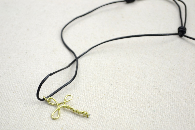 Metal Jewelry Ideas Create A Cross Necklace For Girls · How To Make ...
