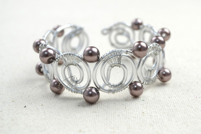 How to make a wire bracelet. Wire Bracelet Designs How To Diy Bangle Bracelets In Super Cool Pattern  - Step 6