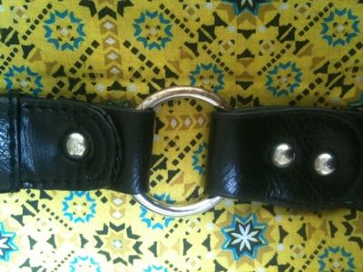 How to make a handbag. Revamped Bags! - Step 4