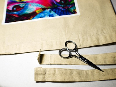 How to make an embellished tote. Customized Tote - Step 7