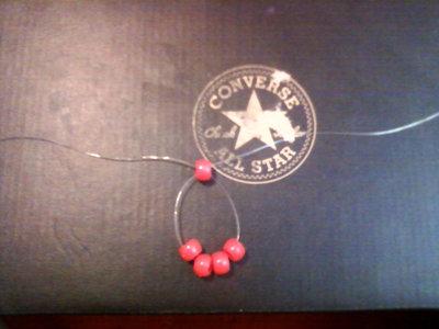 How to bead a beaded shape. Kandi Stars - Step 1