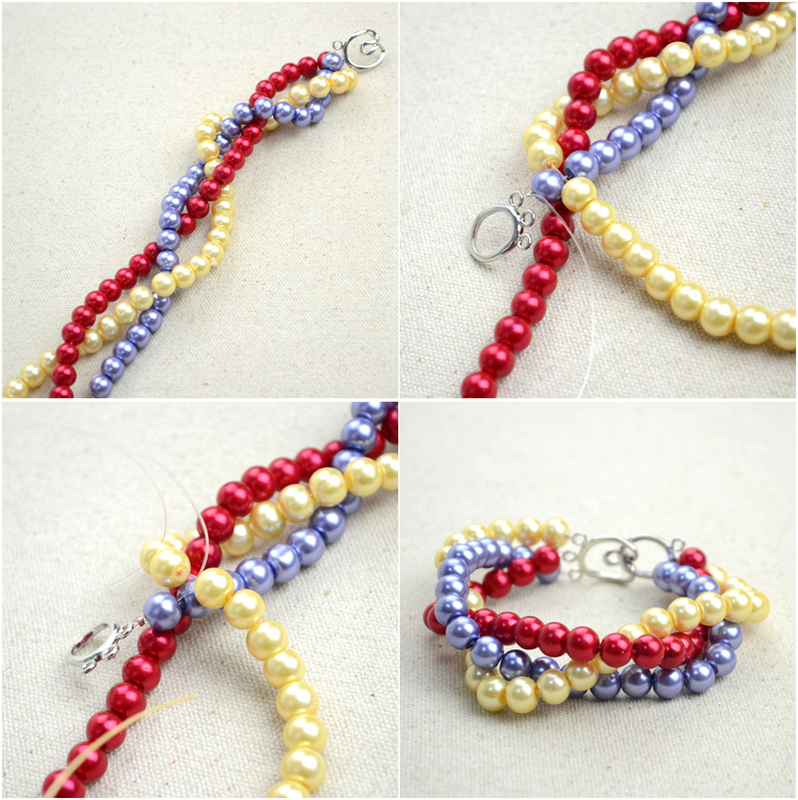 how to make a pearl bracelet handmade beaded jewelry designs simple pearl bracelet and ring - Beaded Bracelet Design Ideas