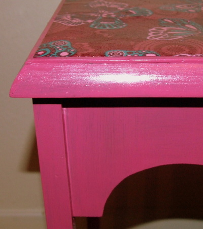 How to make a table. Decoupage Side Table - Step 1