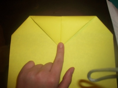 How to make an envelope. Heart Envolope - Step 10
