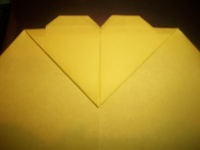 How to make an envelope. Heart Envolope - Step 17