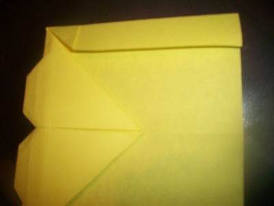 How to make an envelope. Heart Envolope - Step 18