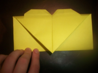 How to make an envelope. Heart Envolope - Step 21