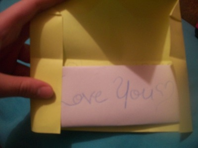 How to make an envelope. Heart Envolope - Step 24