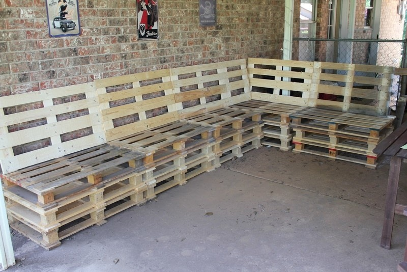 Diy Pallet Furniture · How To Make A Bench · Home + DIY on ...