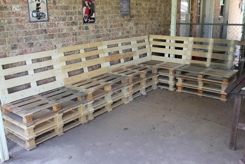 diy pallet furniture how to make a bench home diy on cut out keep. Black Bedroom Furniture Sets. Home Design Ideas