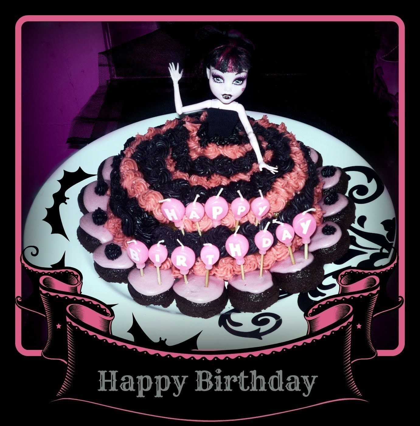 Monster High Girls Birthday Cake A Decorative Cake Recipes On