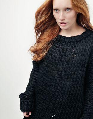 Medium 01 wonderwool sweater spaceblack