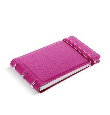 Medium filofax notebook smart fuchsia alt 1