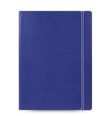 Medium filofax notebook a4 blue large