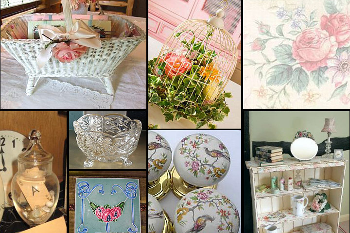 Vintage decor in snippets magazine issue 16 the vintage for Vintage home decor