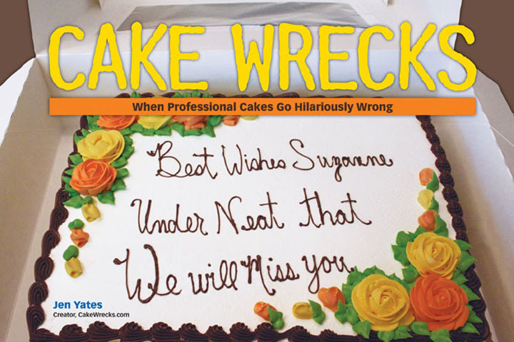 cake wrecks in snippets magazine issue 19