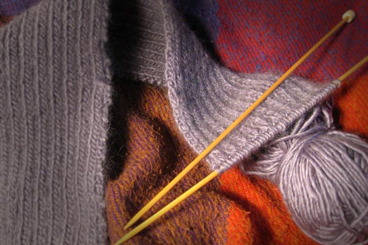 Glitzy Knitting