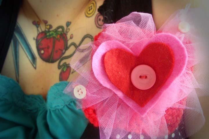 Valentine's Brooch