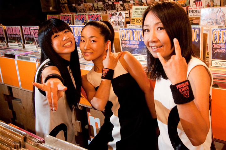 Japanese girl punk band-1393