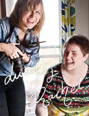 Lucy Hewett and Rachel Adams
