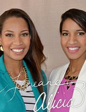 Alicia Powell and Geneane Johnson