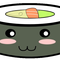 Square sushi kawaii by jorgicio