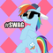 Square rainbow dash swag by angiedraco d575ou3