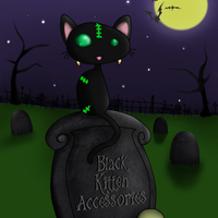 Black Kitten Accessories